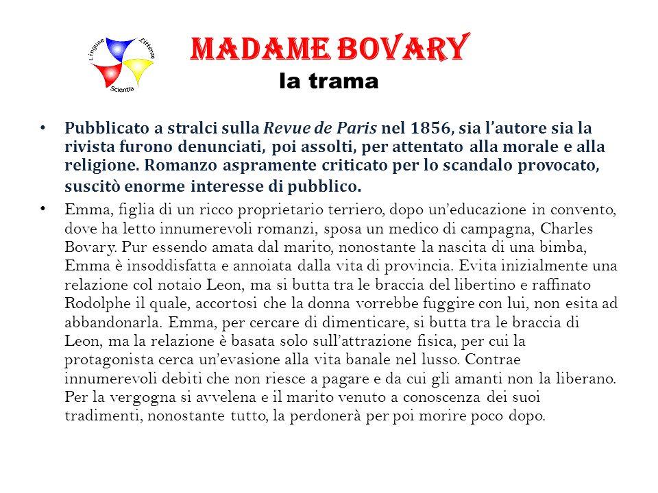 Madame Bovary la trama