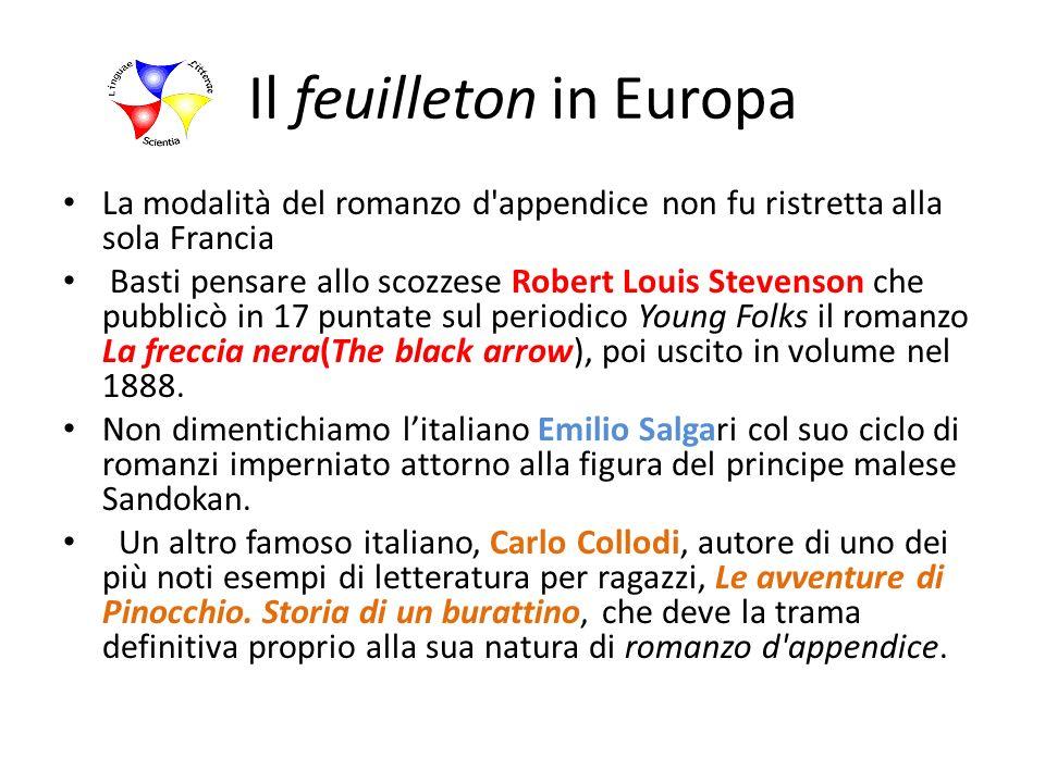 Il feuilleton in Europa