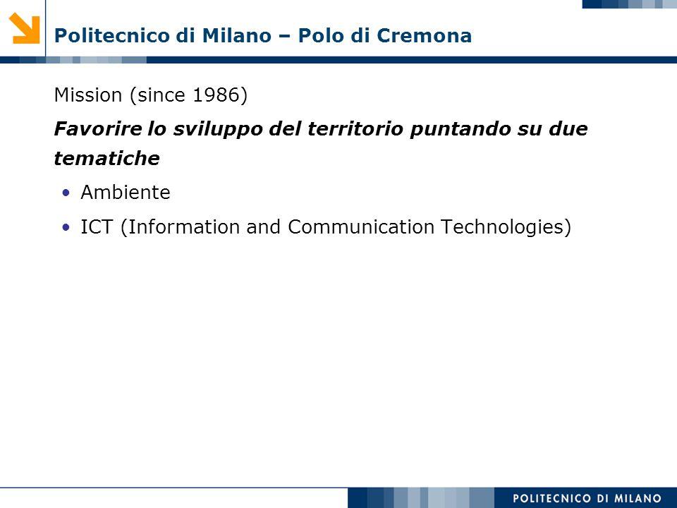 Politecnico di Milano – Polo di Cremona