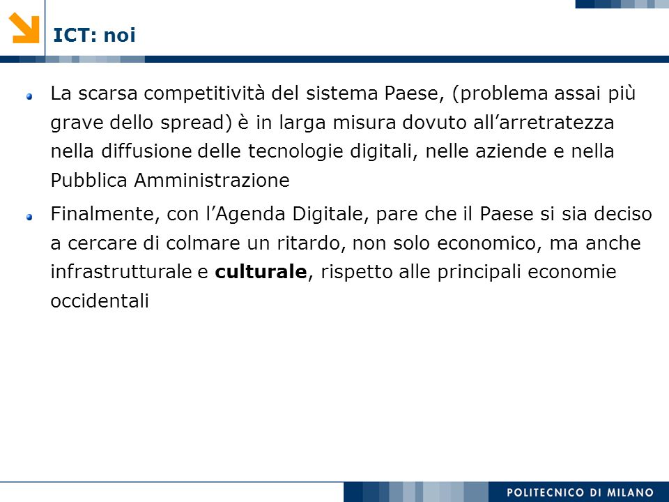 ICT: noi