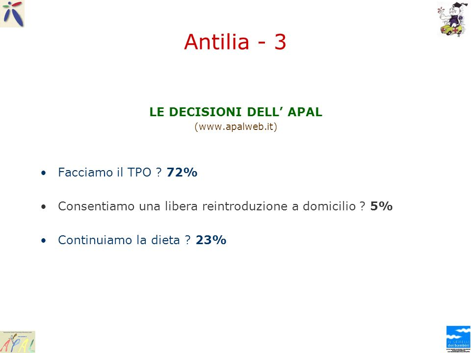 LE DECISIONI DELL' APAL