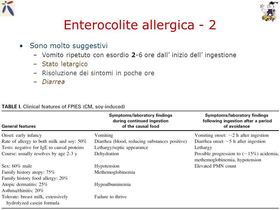 Enterocolite allergica - 2