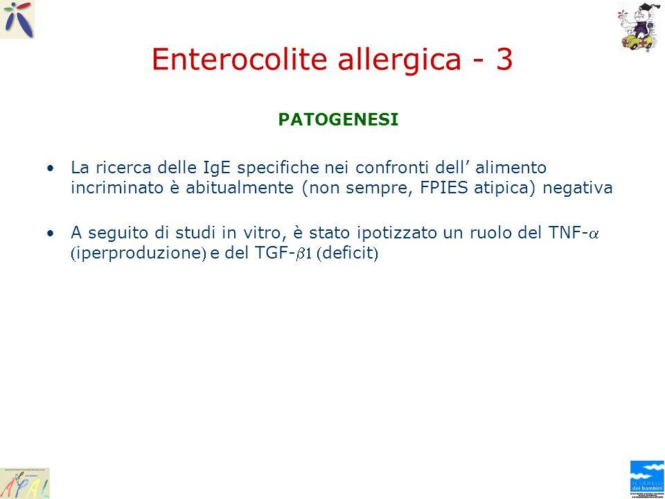 Enterocolite allergica - 3