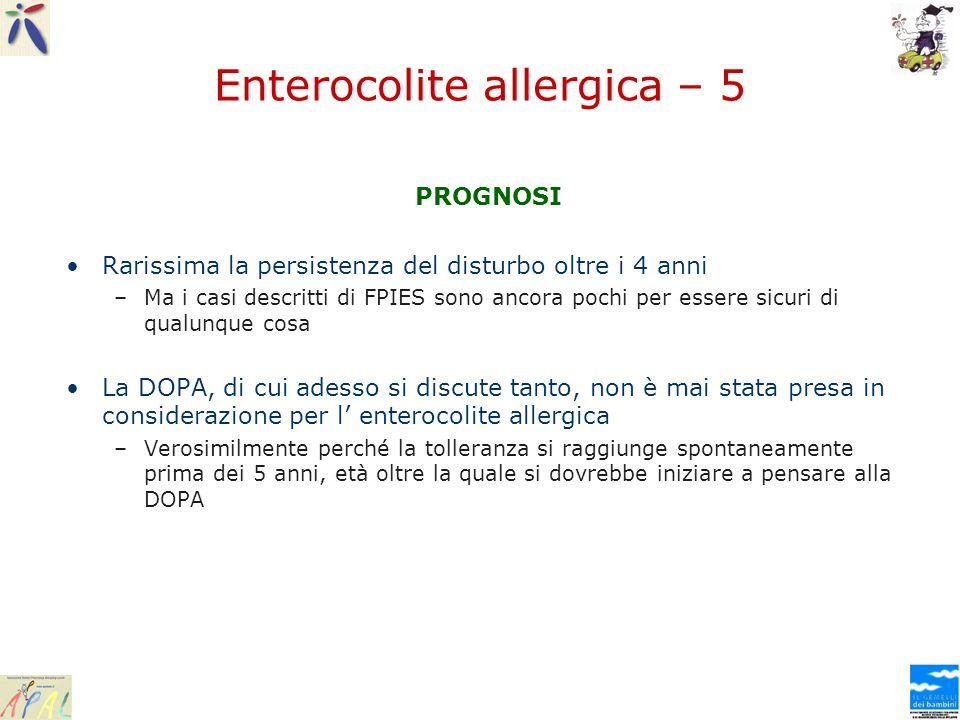 Enterocolite allergica – 5