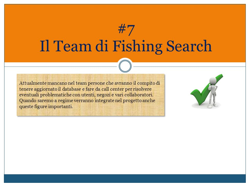 #7 Il Team di Fishing Search