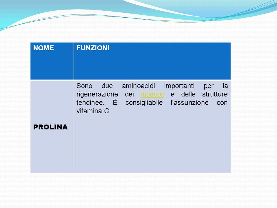NOME FUNZIONI. PROLINA.