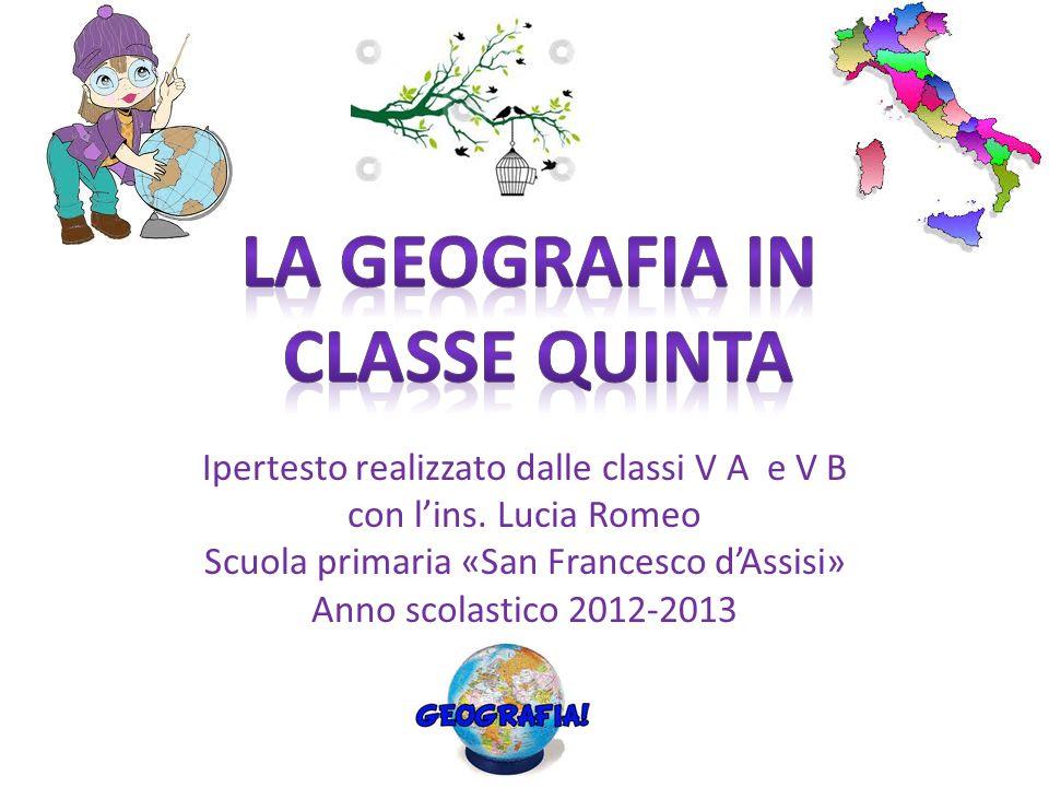 La geografia in classe quinta