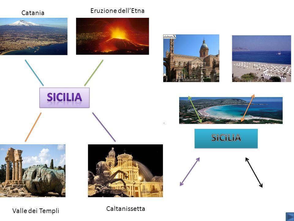 Eruzione dell'Etna Catania Caltanissetta Valle dei Templi