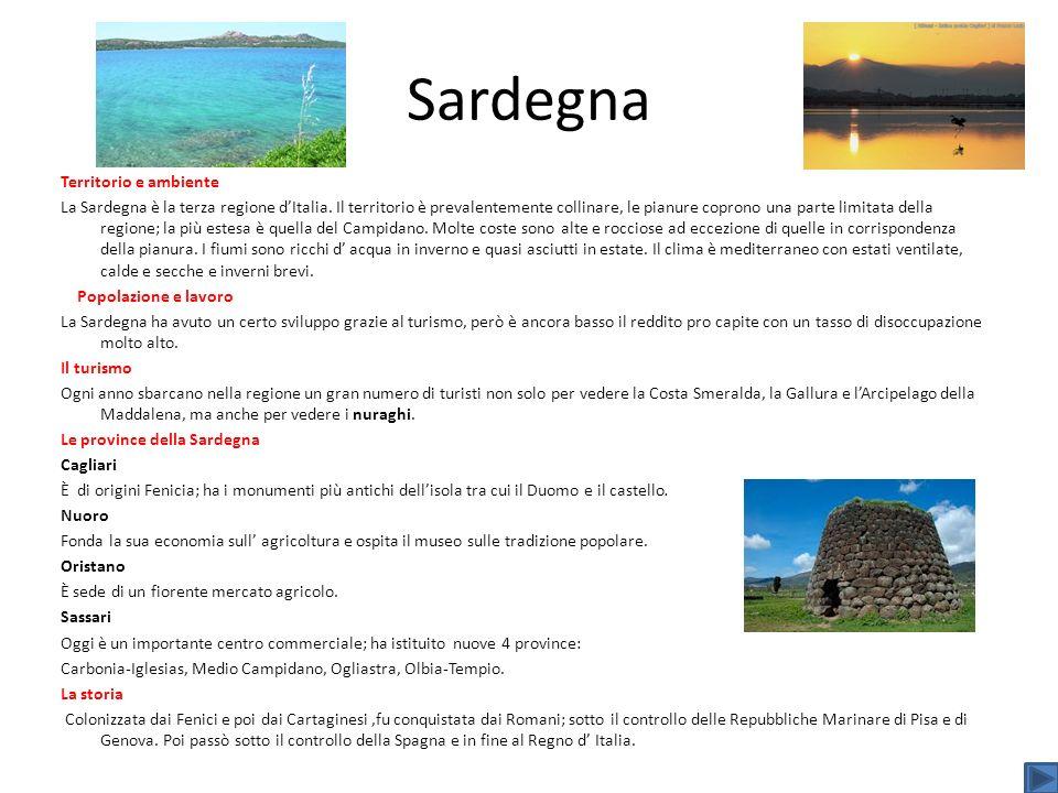 Sardegna Territorio e ambiente