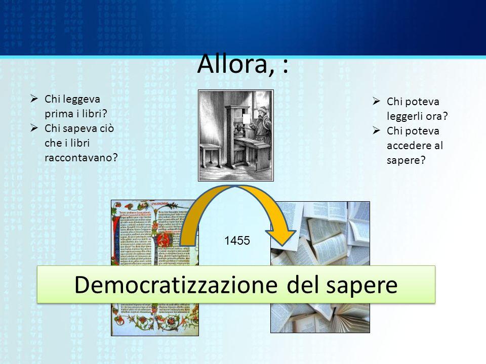 Democratizzazione del sapere