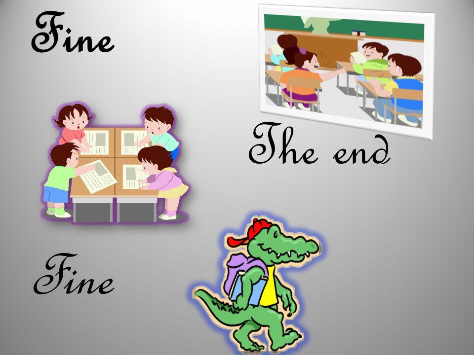 Fine The end Fine