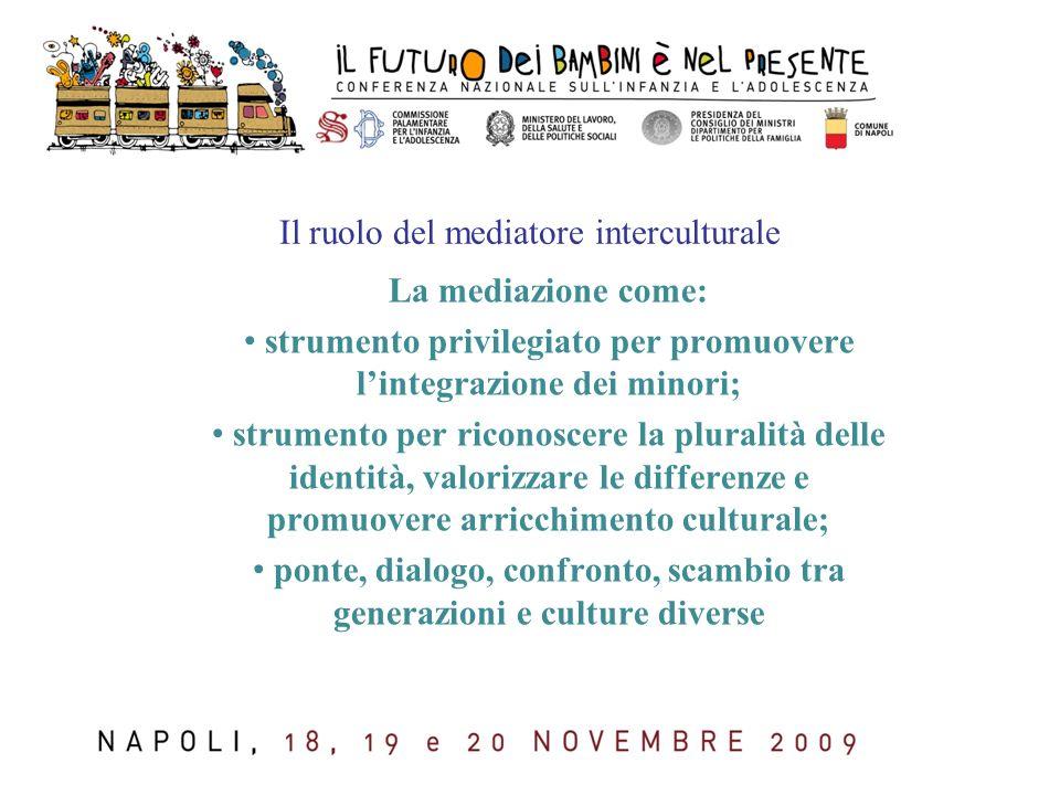 Il ruolo del mediatore interculturale