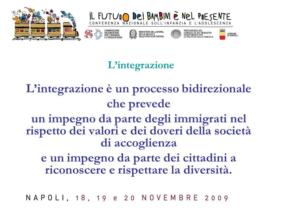 L'integrazione è un processo bidirezionale