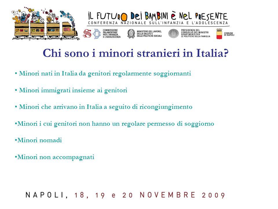 Chi sono i minori stranieri in Italia