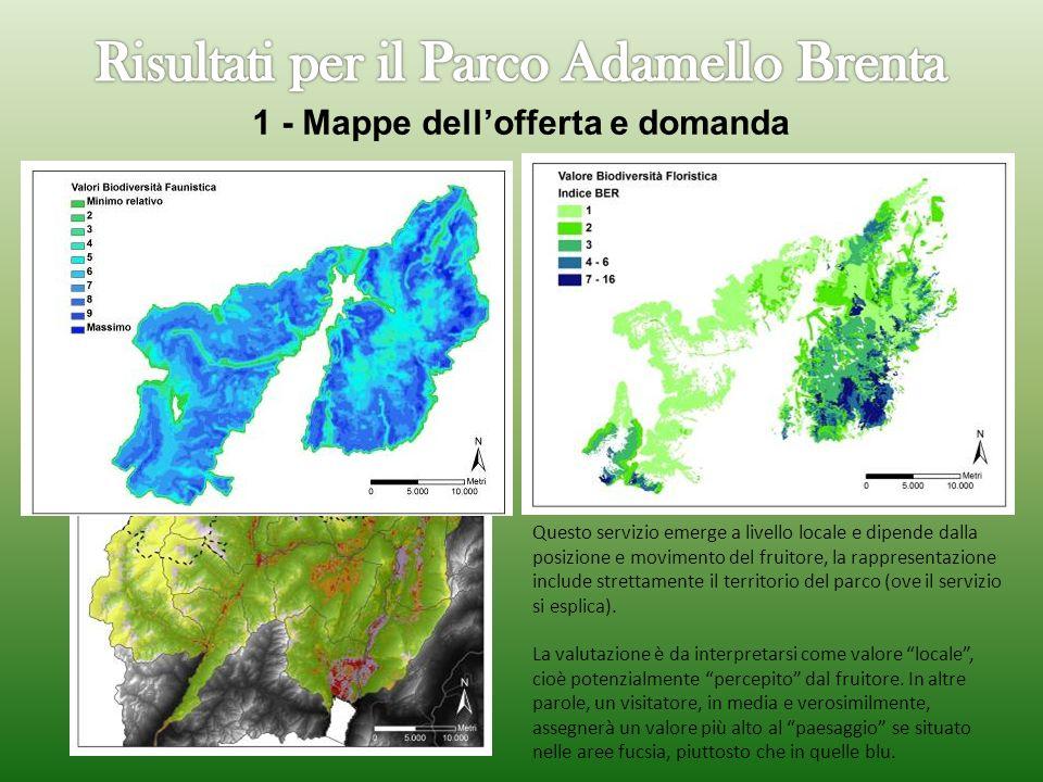 1 - Mappe dell'offerta e domanda