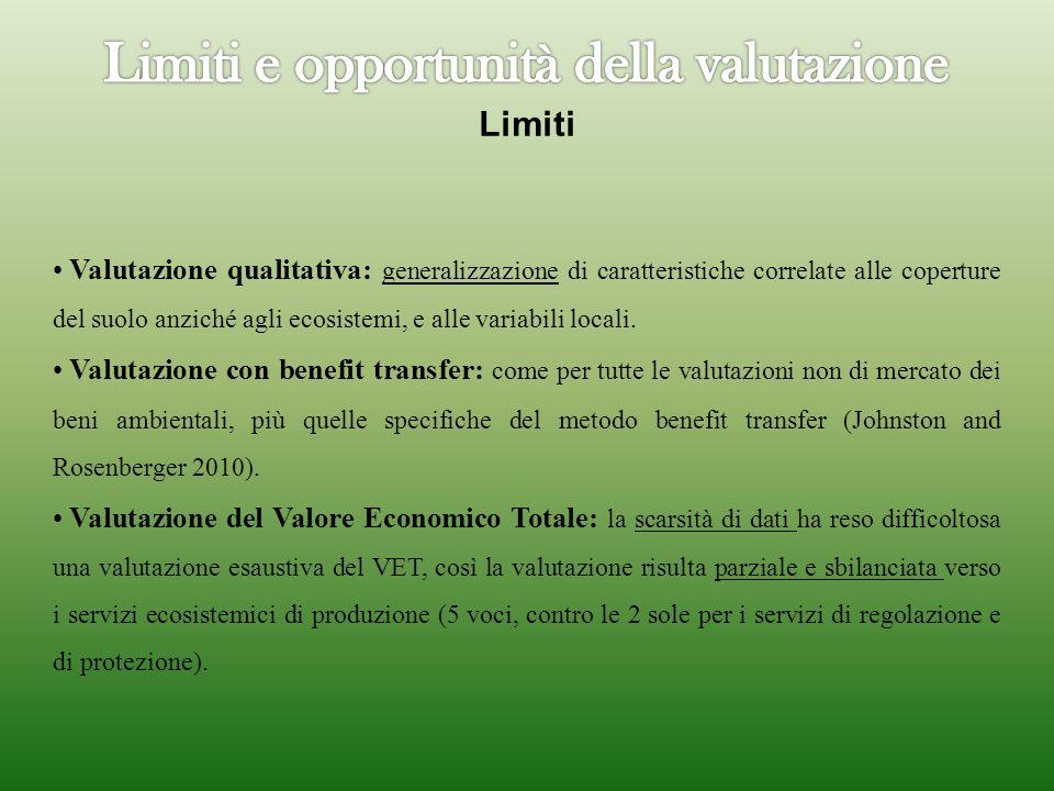 Limiti e opportunità della valutazione