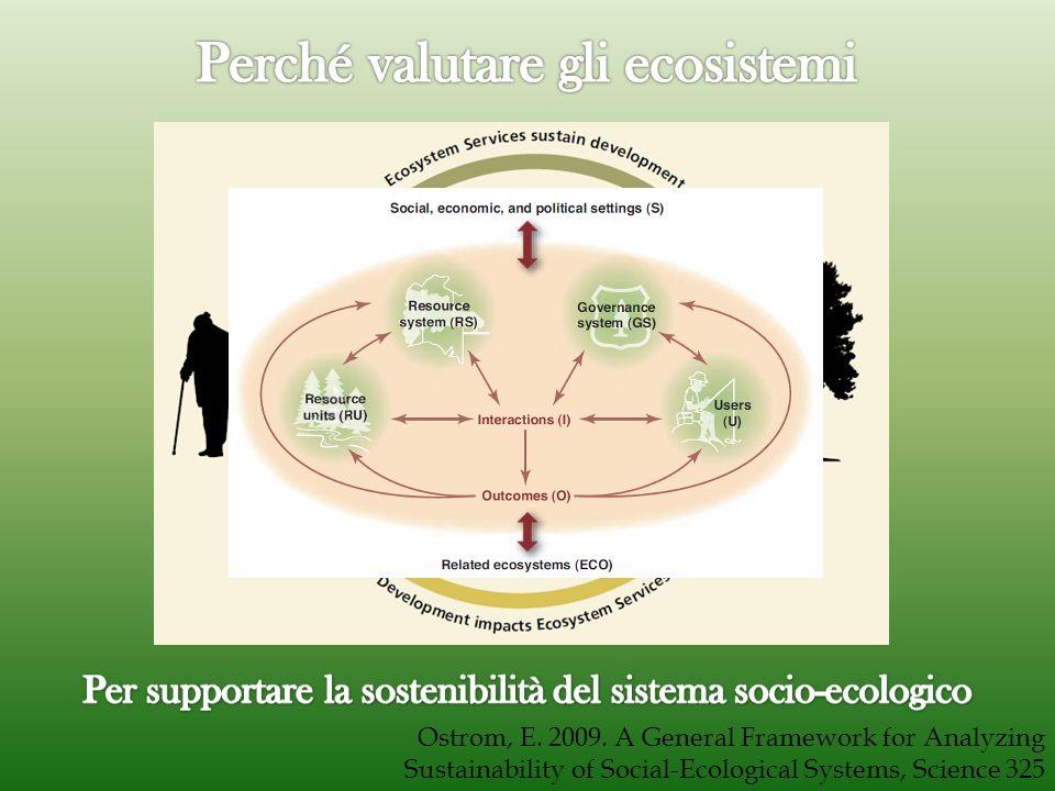 Perché valutare gli ecosistemi