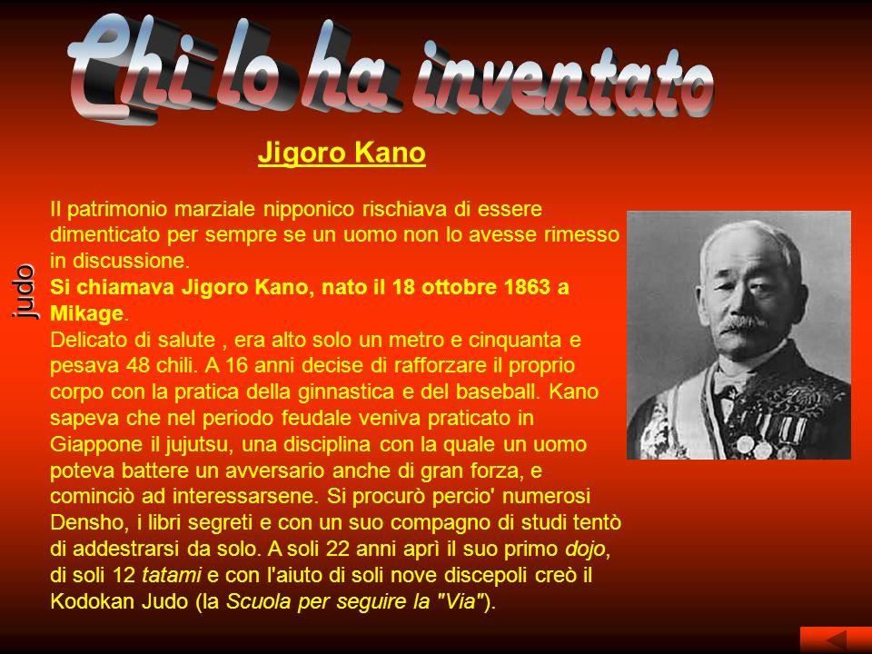 Chi lo ha inventato Jigoro Kano judo