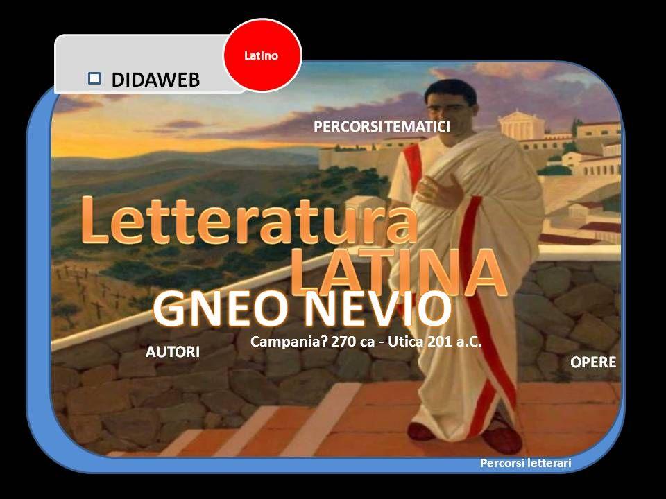 GNEO NEVIO Campania 270 ca - Utica 201 a.C.