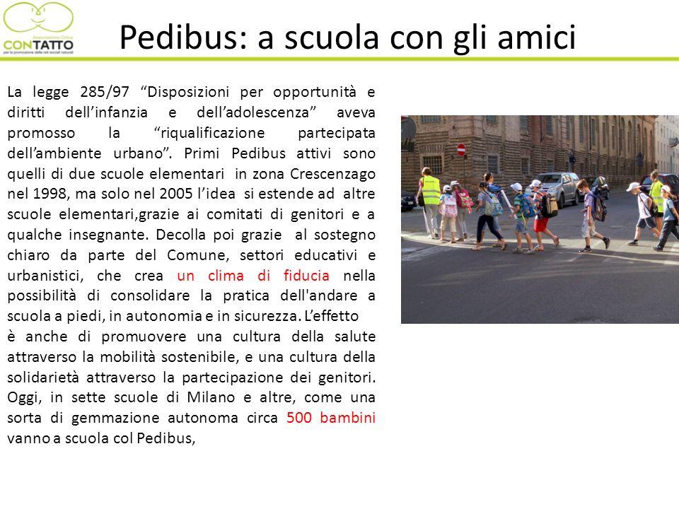 Pedibus: a scuola con gli amici