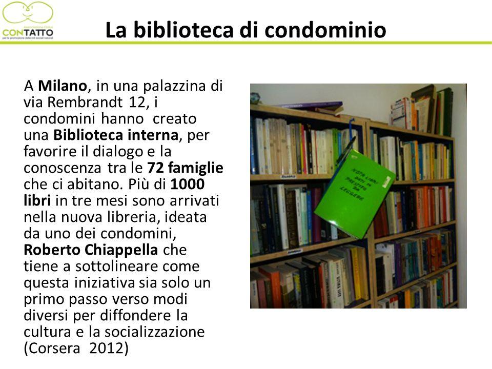 La biblioteca di condominio