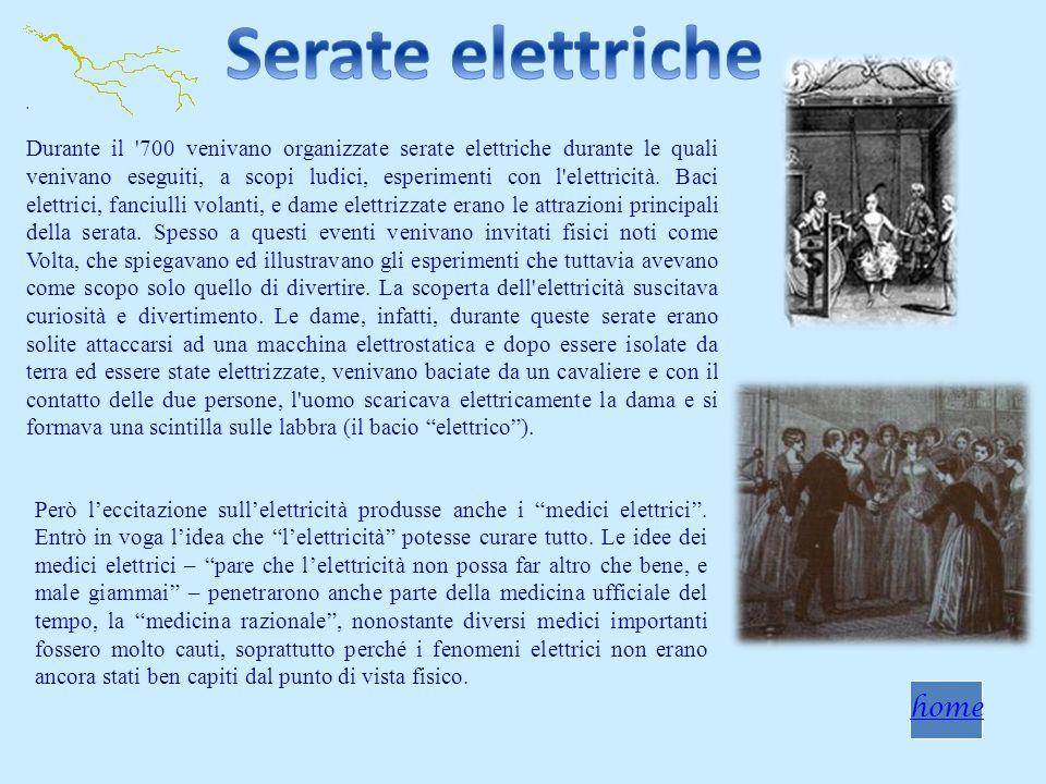 Serate elettriche home