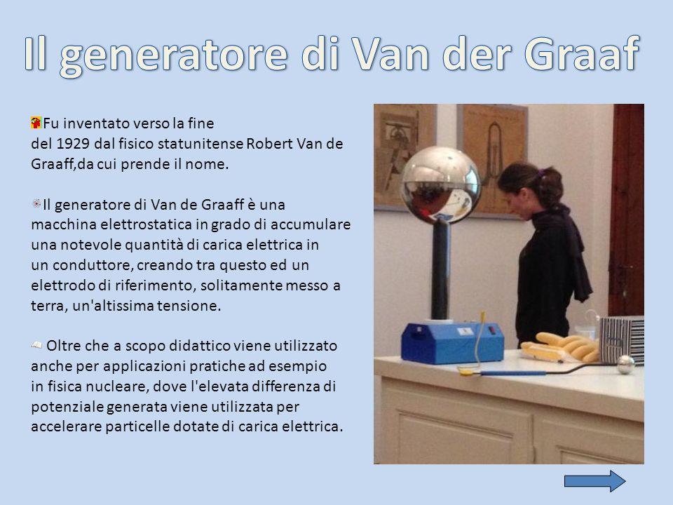 Il generatore di Van der Graaf
