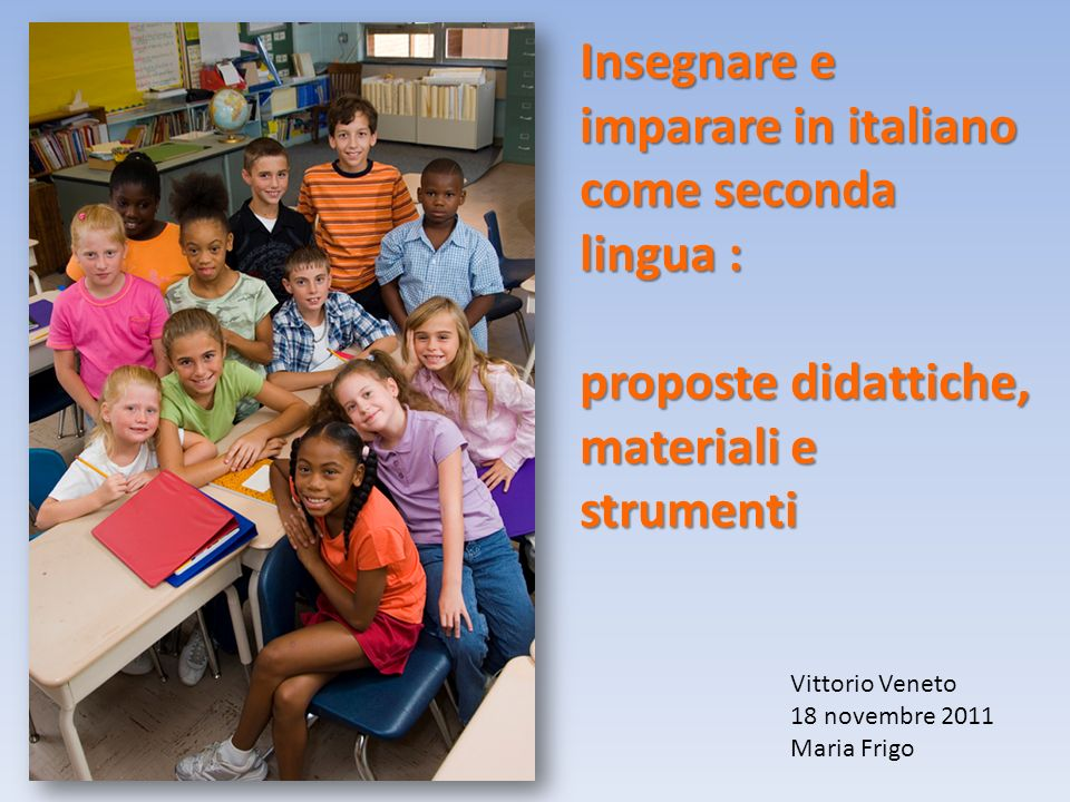 Insegnare e imparare in italiano come seconda lingua :