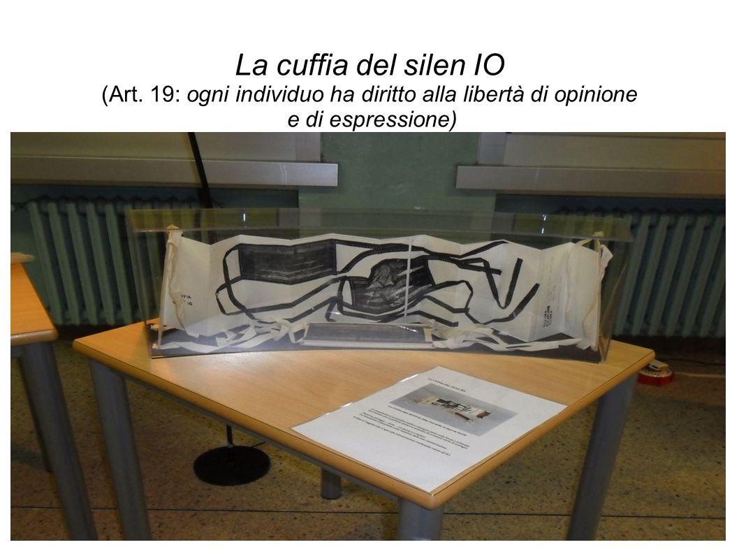 La cuffia del silen IO (Art