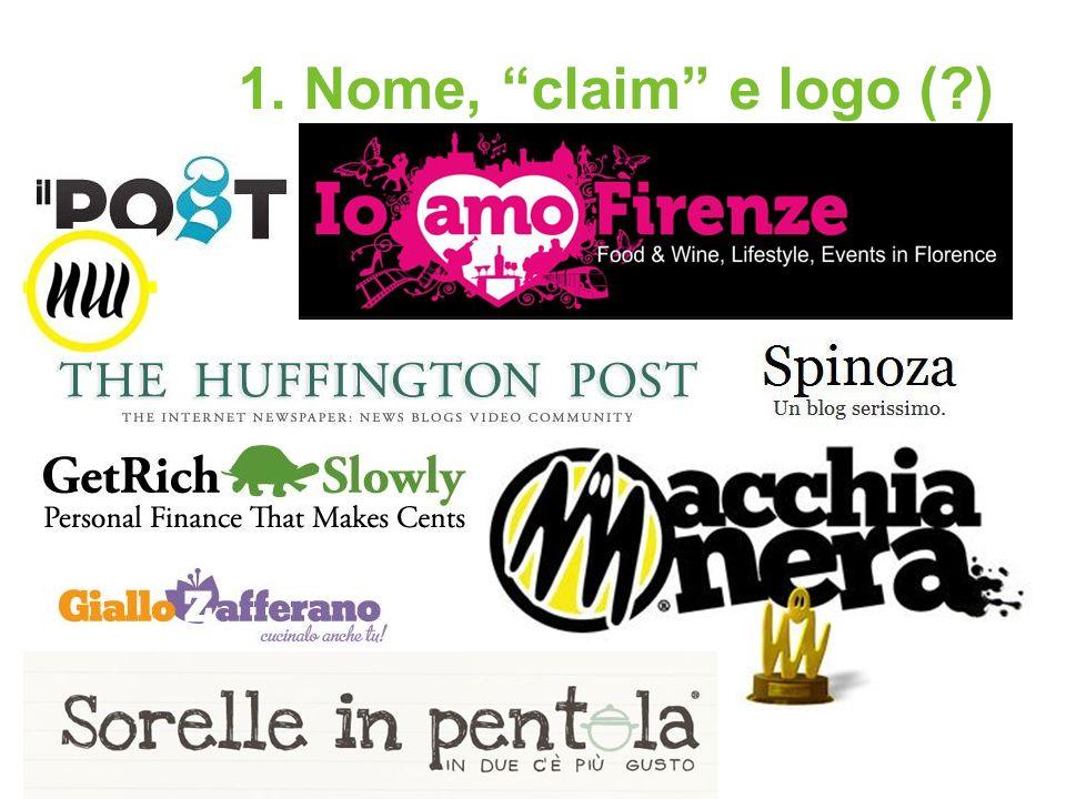 1. Nome, claim e logo ( )