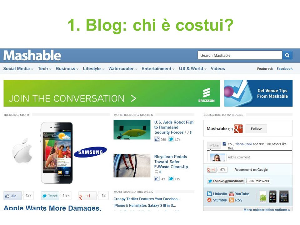 1. Blog: chi è costui