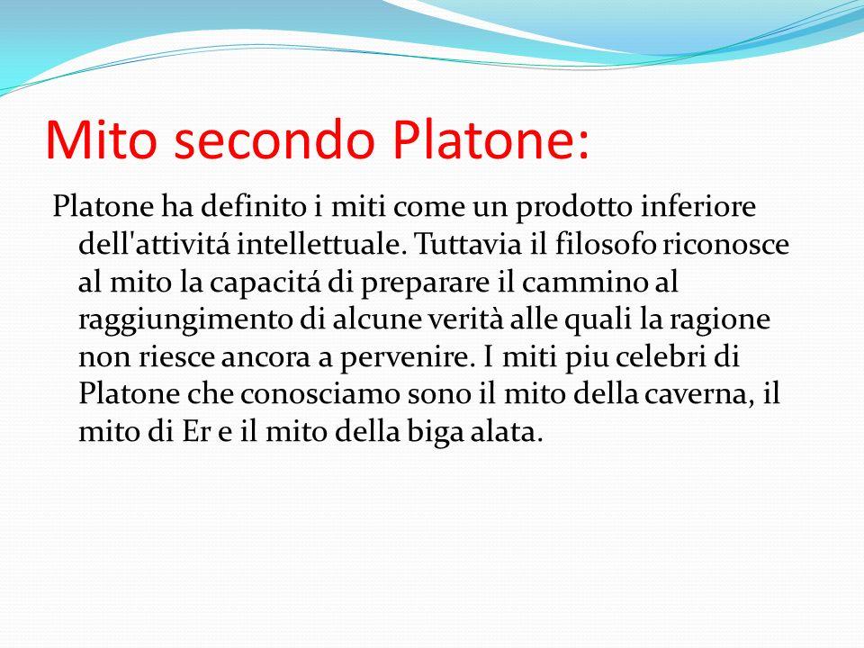 Mito secondo Platone: