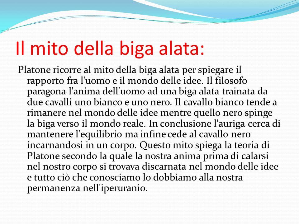 Il mito della biga alata: