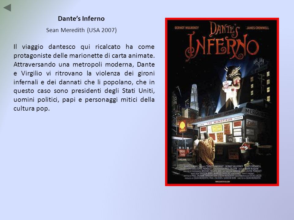Dante's Inferno Sean Meredith (USA 2007)