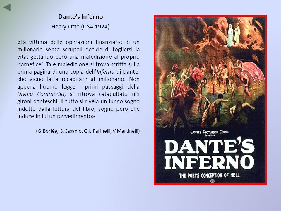 Dante's Inferno Henry Otto (USA 1924)