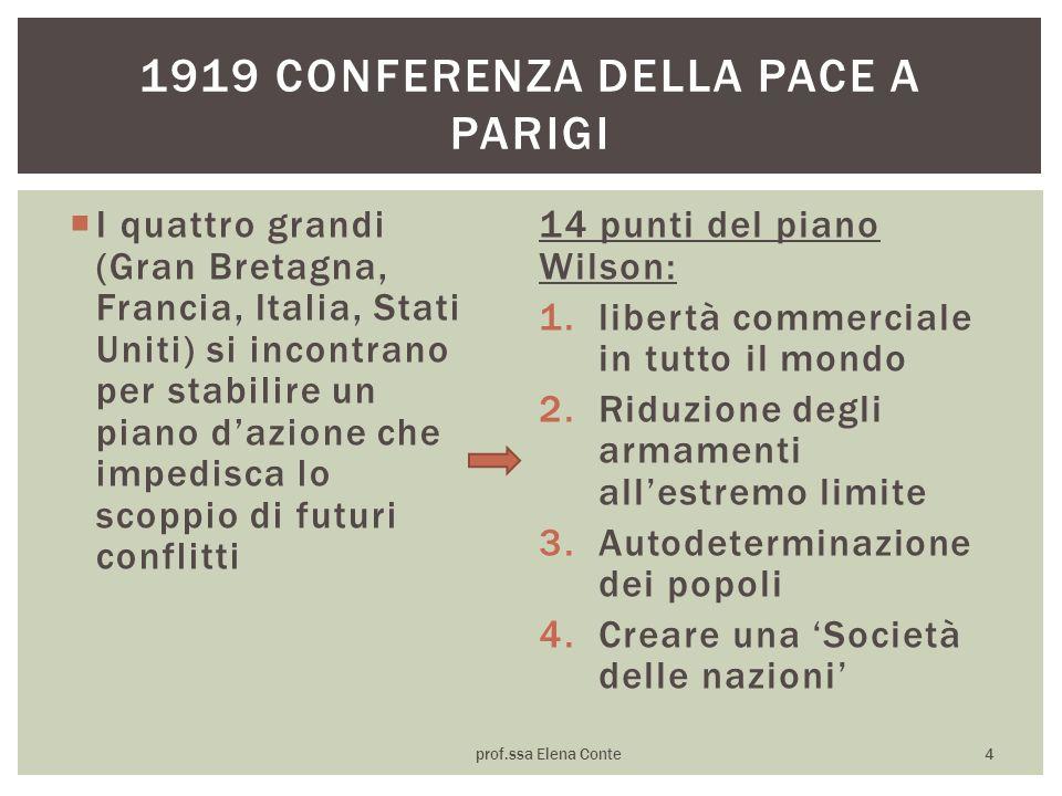1919 conferenza della pace a parigi