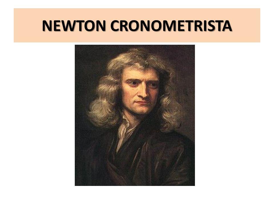 NEWTON CRONOMETRISTA