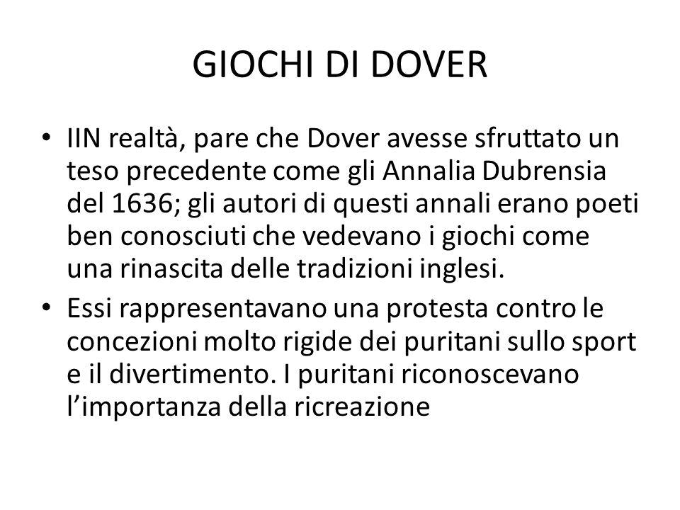 GIOCHI DI DOVER