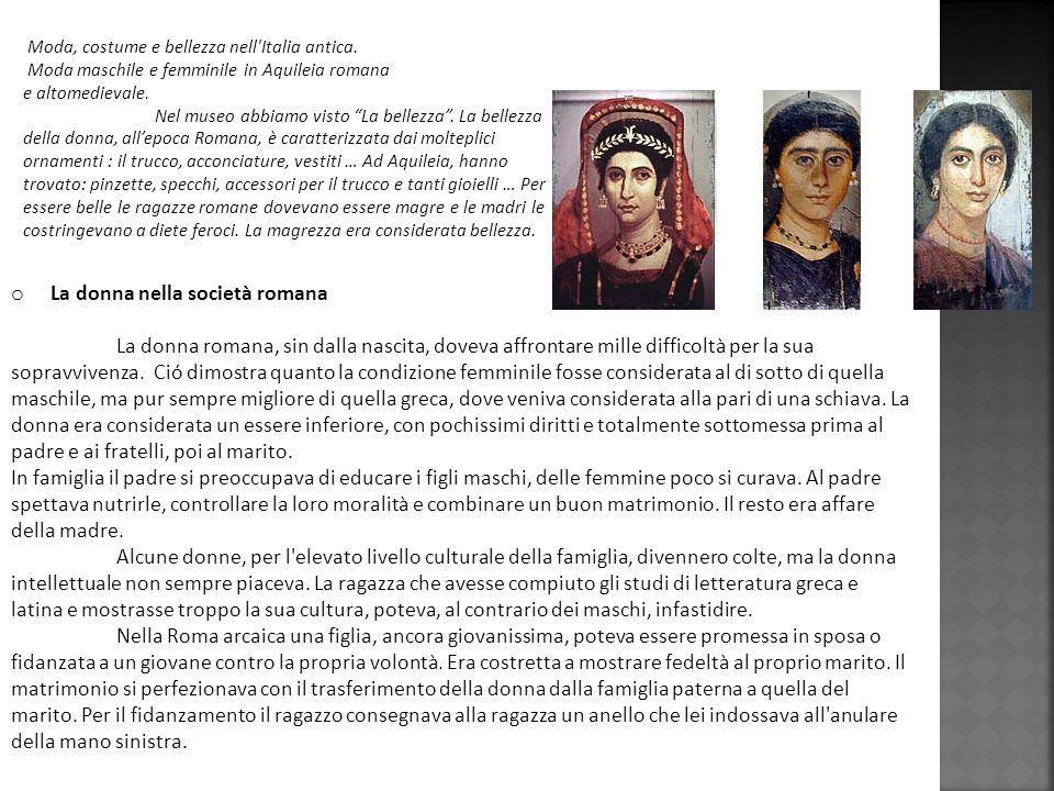 La donna nella società romana