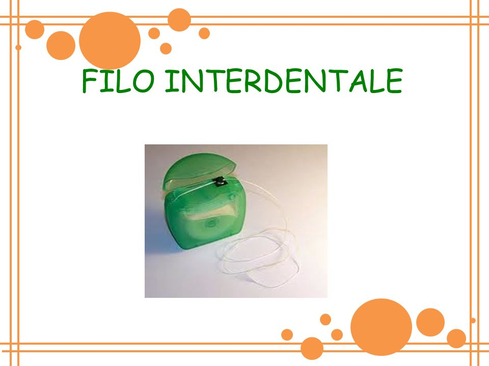 FILO INTERDENTALE