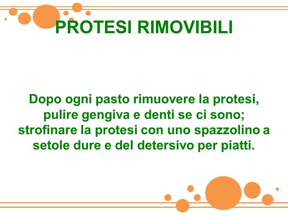 PROTESI RIMOVIBILI