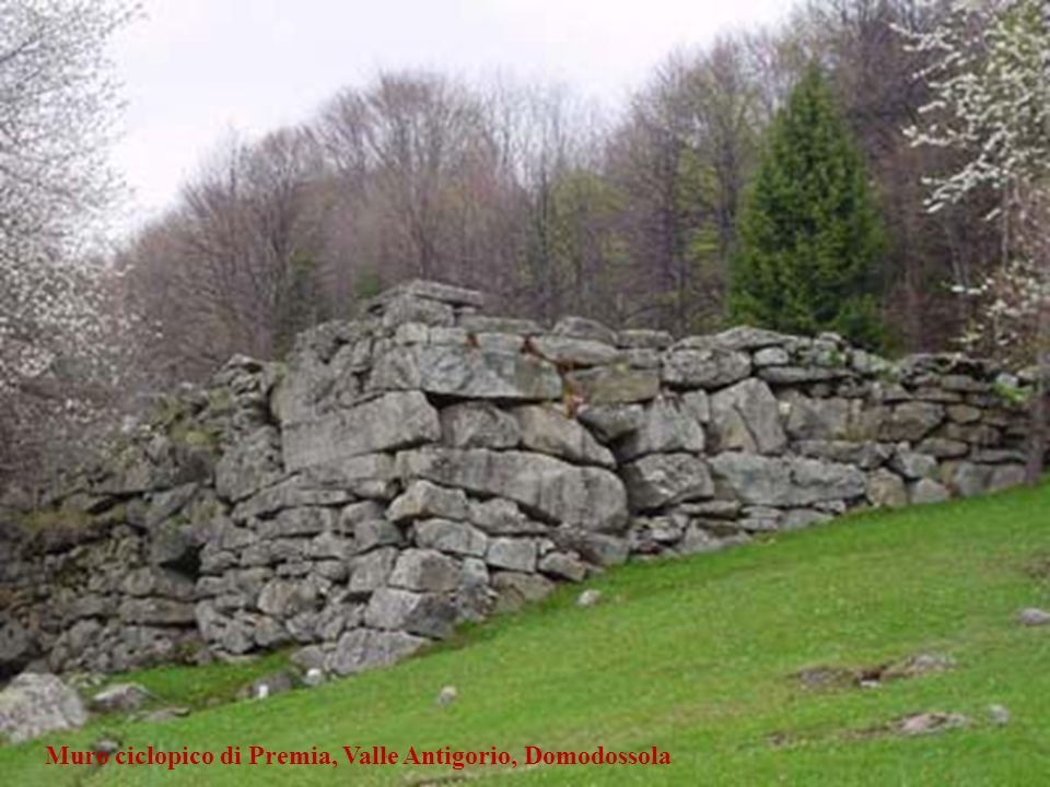 Muro ciclopico di Premia, Valle Antigorio, Domodossola
