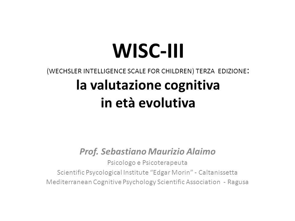 Prof. Sebastiano Maurizio Alaimo