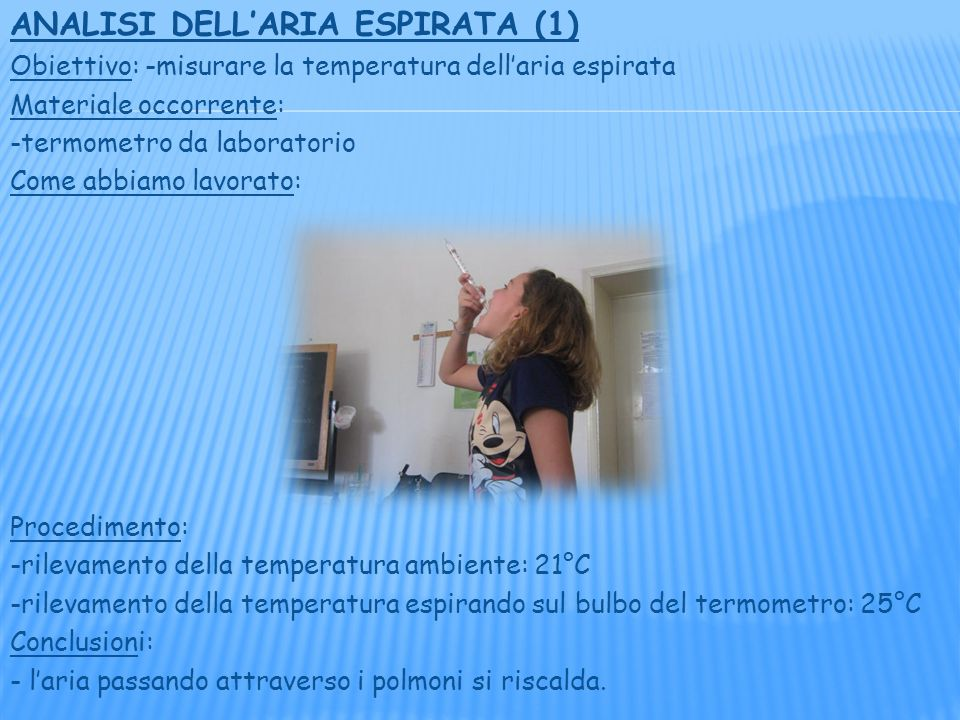 ANALISI DELL'ARIA ESPIRATA (1)