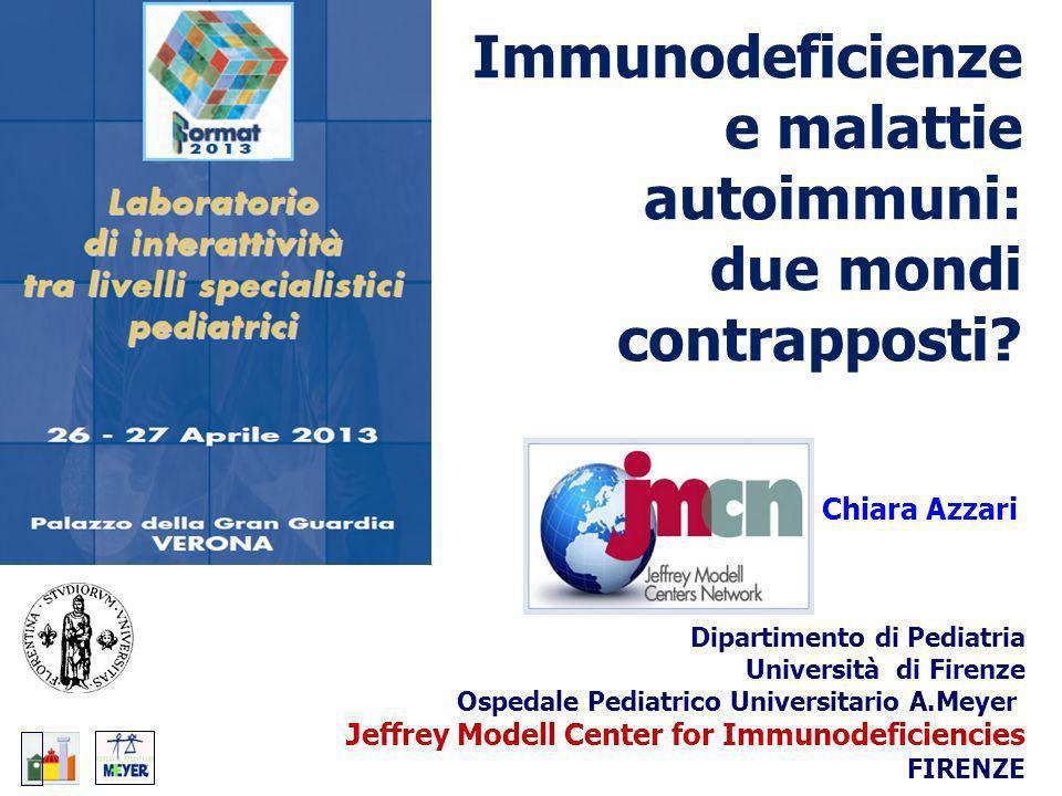 Immunodeficienze e malattie autoimmuni: