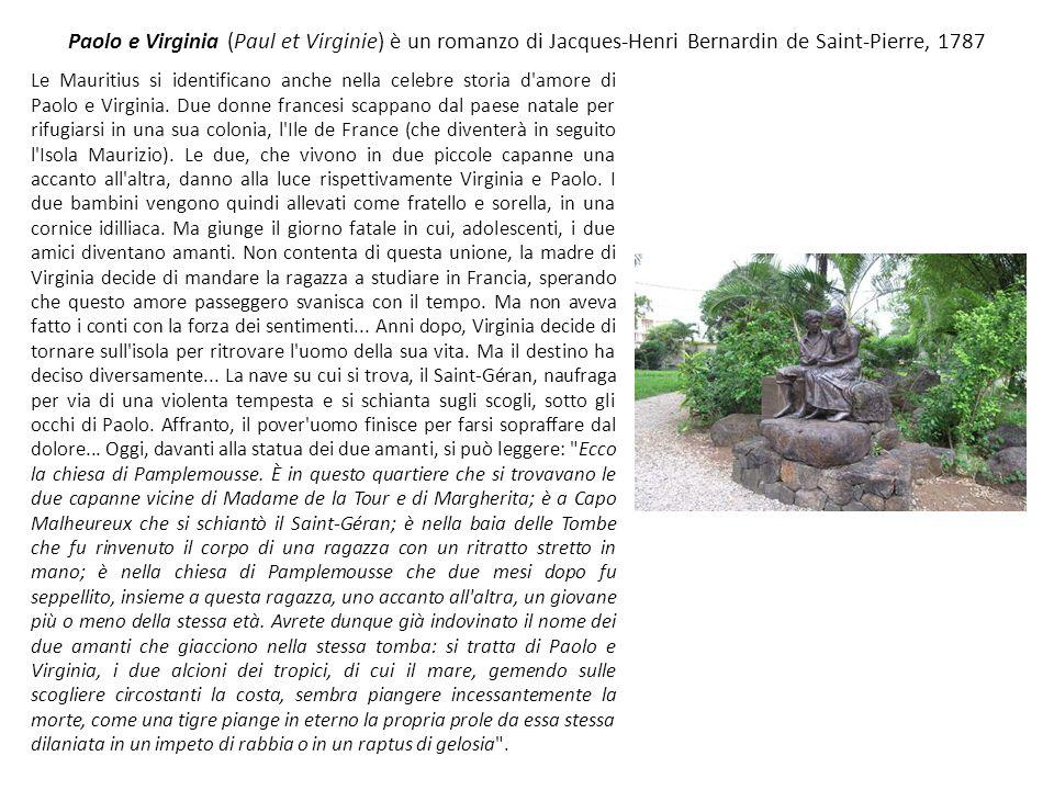 Paolo e Virginia (Paul et Virginie) è un romanzo di Jacques-Henri Bernardin de Saint-Pierre, 1787