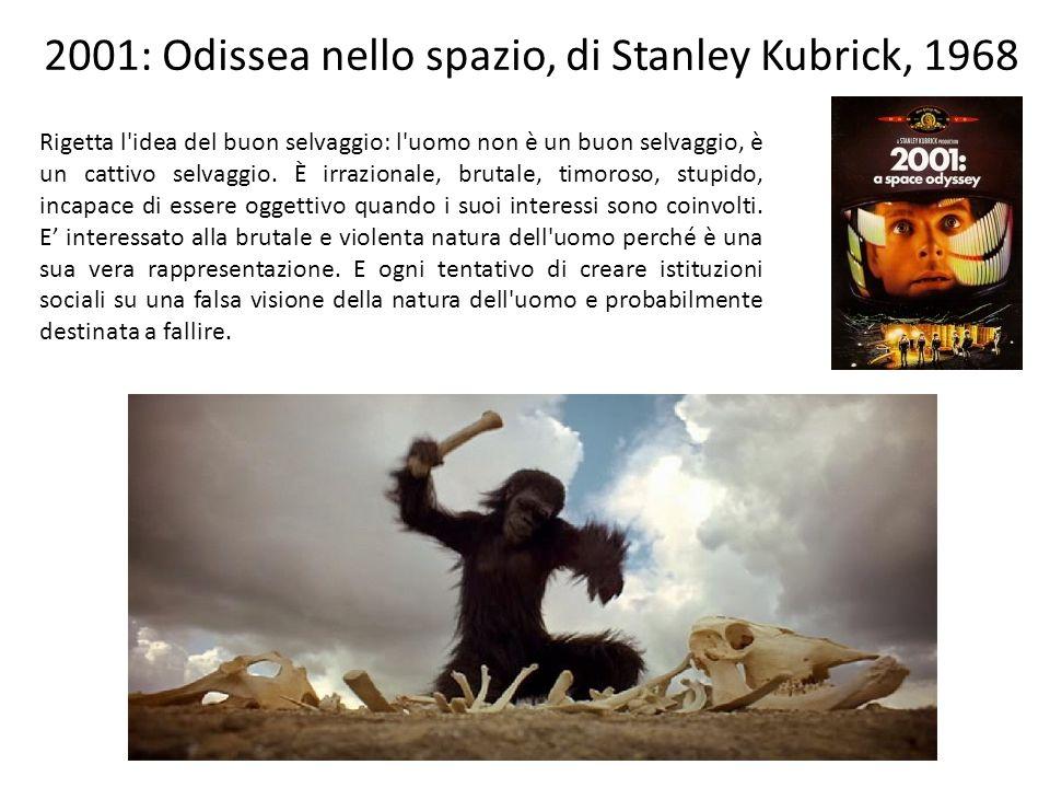 2001: Odissea nello spazio, di Stanley Kubrick, 1968
