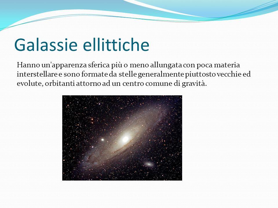 Galassie ellittiche