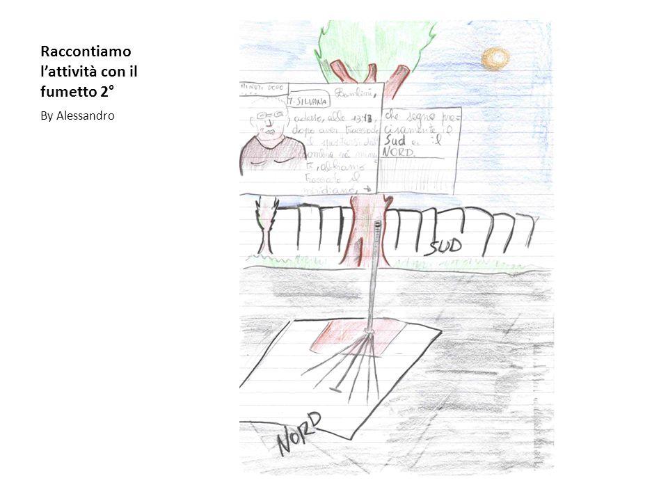 Raccontiamo l'attività con il fumetto 2°