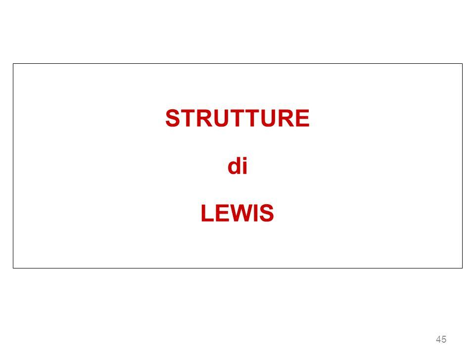 STRUTTURE di LEWIS 45